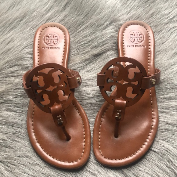 0d4a178b06e4 Tory Burch Miller Vintage Tan Thong Sandals 5.5.  M 5c1be666035cf196b5ecd937. Other Shoes you may like. New authentic ...